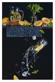 Lemonade From The Top Shelf Giclée-tryk af Dina Belenko