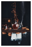Upside And Down Again (with Coffee) Giclee Print by Dina Belenko