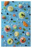 Sweet Pattern: Cupcake Giclee Print by Dina Belenko