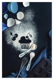 Baking Recipe: Cherry Muffin Giclee Print by Dina Belenko