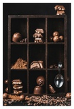 Chocolate Collection Giclee Print by Dina Belenko