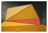 The Yellow Roof Giclee Print by Gilbert Claes
