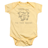 Infant: Regular Show- Send Em To The Moon Onesie Infant Onesie