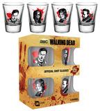 The Walking Dead - Characters New Shot Glass Set Rariteter
