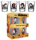 The Walking Dead - Characters New Shot Glass Set Novelty
