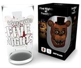 Five Nights At Freddy's - Fazbear 500 ml Glass Sjove ting