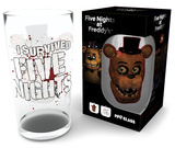 Five Nights At Freddy's - Fazbear 500 ml Glass Neuheit