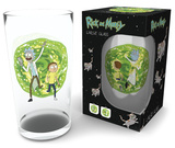 Rick and Morty - Portal 500 ml Glass Sjove ting