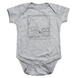 Infant: Regular Show- Black And White Polaroid Onesie Infant Onesie