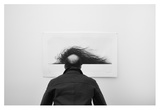 Wig Giclee Print by Jorge Pena