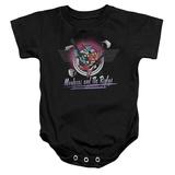 Infant: Regular Show- Mordecai & The Rigbys Onesie Infant Onesie