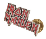 Iron Maiden - Enamel Logo Badge