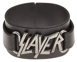 Slayer - Logo Leather Bracelet Armbånd