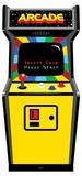 80's Colour Golden Age Video Arcade Game Figuras de cartón