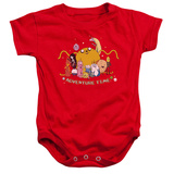 Infant: Adventure Time- Group Portrait Onesie Infant Onesie