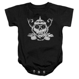 Infant: Adventure Time- Skull Face Onesie Infant Onesie