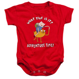 Infant: Adventure Time- Ride Bump Onesie Infant Onesie