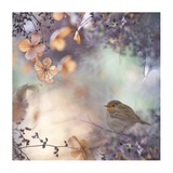 Hydrangea Fantasy Giclee Print by Teuni