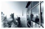 Foggy City Giclee Print by Naufal