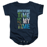 Infant: Adventure Time- My Time Block Logo Onesie Infant Onesie