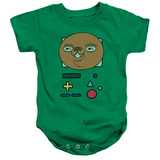 Infant: Adventure Time- Bmo In Disguise Onesie Infant Onesie