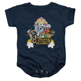 Infant: Amazing World Of Gumball- Elmore Junior High Onesie Infant Onesie