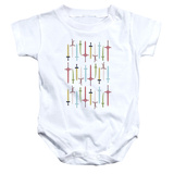Infant: Adventure Time- Sword Collection Onesie Infant Onesie