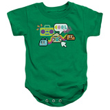 Infant: Amazing World Of Gumball- 8-Bit Coolness Onesie Infant Onesie