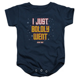 Infant: Star Trek- Boldly Went Onesie Infant Onesie