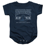 Infant: Star Trek- Starfleet Academy Earth Onesie Infant Onesie