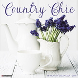 Country Chic - 2018 Calendar Kalenders