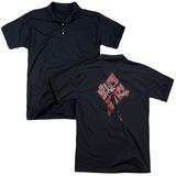Polo: Harley Quinn- Diamond Action Shirts