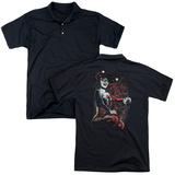 Polo: Batman- Laughing Harley (Back Print) T-Shirt