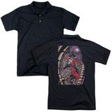 Polo: Harley Quinn- Coaster Spiral T-Shirt
