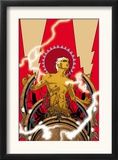Warlock 2 Cover: Adam Warlock Print by J. H. Williams III