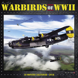 Warbirds of WWII - 2018 Calendar Kalenders