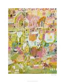 Boho Garden I Limited Edition by Karen Fields