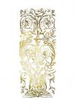 Gold Foil Renaissance Panel I Prints by Owen Jones