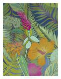 Tropical Tapestry II Art by Chariklia Zarris