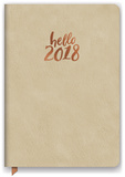 Hello Gold Leatheresque Weekly Planner Calendars