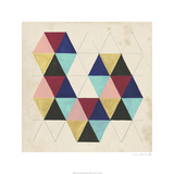 Geometric Pattern Play III Limited Edition by Naomi McCavitt