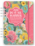Bold Blossoms 17-Month - 2018 Weekly Planner w/Stickers Calendars