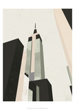 Graphic New York I Print by Green Lili