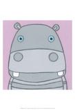 Super Animal - Hippo Print by Tatijana Lawrence