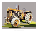 Vintage Tractor IV Poster by Emily Kalina