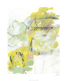 Yellow Floral Abstract I Limited Edition by Jodi Fuchs