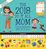 Mom's Do It All - 2018 Magnetic 17 Month Calendar カレンダー
