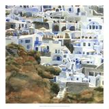 Santorini Hillside II Giclee Print by Edie Fagan