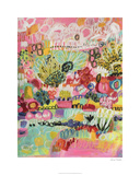 Boho Garden III Limited Edition by Karen Fields