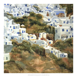 Santorini Hillside III Giclee Print by Edie Fagan